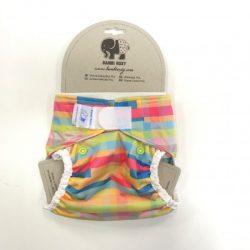 Bambi Roxy egyméretes mosható pelenka külső, tépőzáras puzzle
