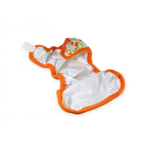 Petit Lulu XL mosható pelenkakülső, rókák