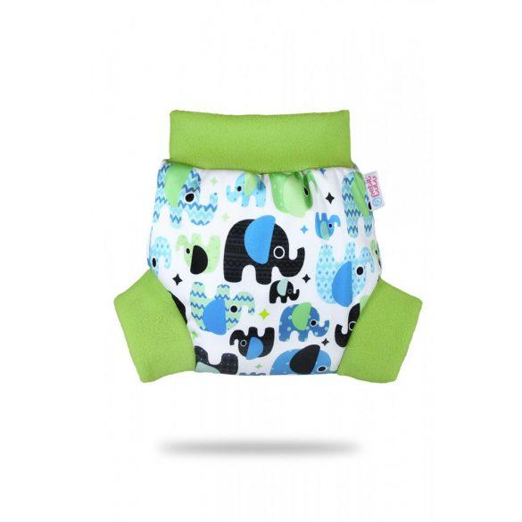 Petit Lulu bebújós mosható pelenka külső, elefánt