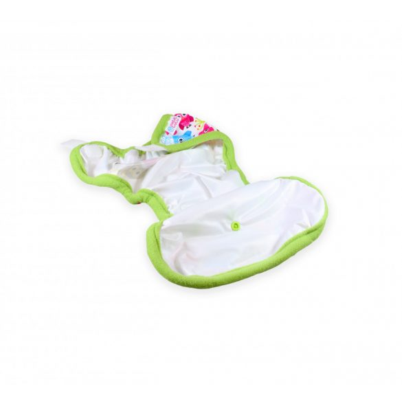 Petit Lulu egyméretes mosható pelenkakülső, tépőzáras, gekko