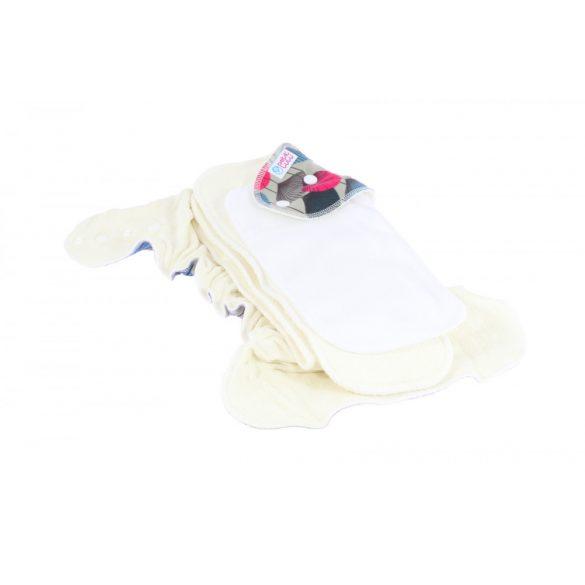 Petit Lulu Maxi Night éjszakai nadrágpelenka tépőzáras vagy patentos, jegesmedvék