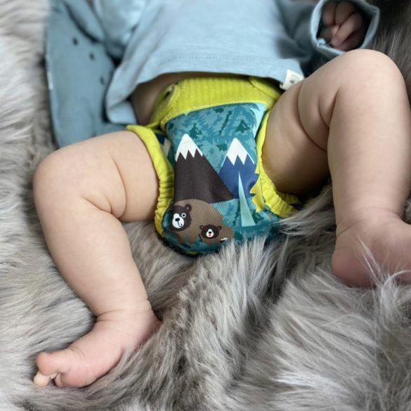 Pop-in újszülött pelenka, medve