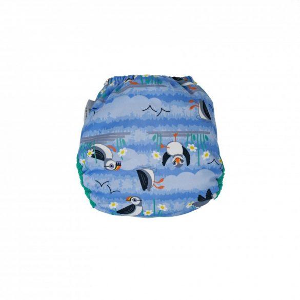 Pop-in pelenkakülső, lunda - blue puffin