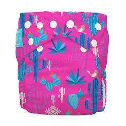 Charlie Banana zsebes pelenka 2 betéttel, pink kaktusz