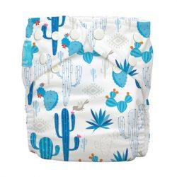 Charlie Banana zsebes pelenka 2 betéttel, kék kaktusz