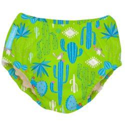Charlie Banana 2:1-ben leszoktató és úszópelenka, zöld kaktusz