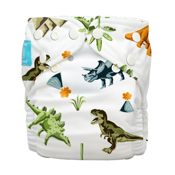 Charlie Banana zsebes pelenka 2 betéttel, dinoszaurusz