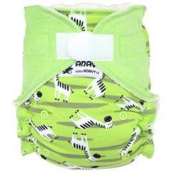 Anavy egyméretes pelenkabelső tépőzáras, zebra