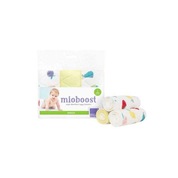 BambinoMio Mioboost nedvszívó kiegészítő 3 db/csomag, gyümölcsök