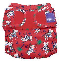 Bambinomio Miosoft pelenkakülső, vidám zebrák