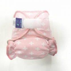 Bambi Roxy egyméretes éjszakai tépőzáras pelenka belső, rózsaszín