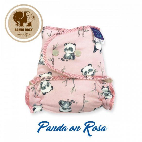 Bambi Roxy egyméretes éjszakai tépőzáras pelenka belső, panda