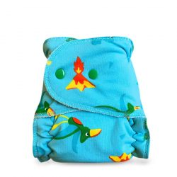 Bambi Roxy egyméretes éjszakai patentos pelenka belső, kék dzsungel