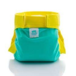 Culla di Teby soft touch csónakos pelenka - menta és citrom