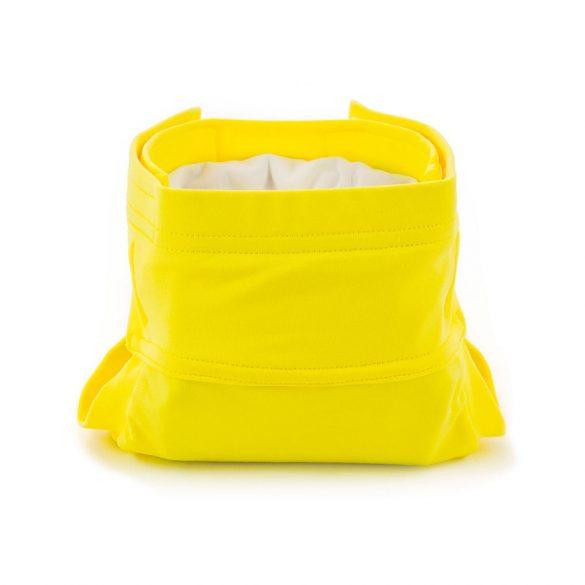Culla di Teby soft touch csónakos pelenka - citromsárga