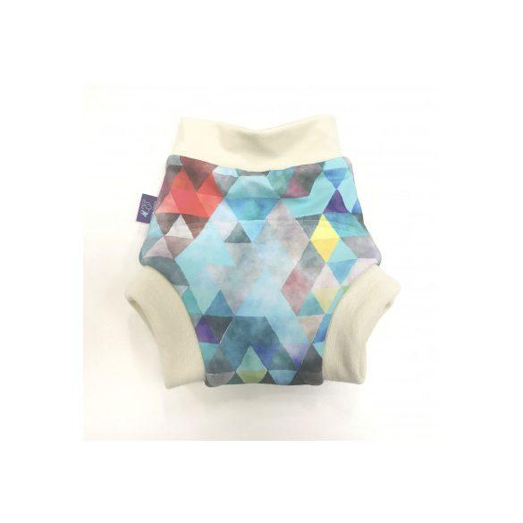 Bambi Roxy bebújós merinó gyapjú külső, kék puzzle