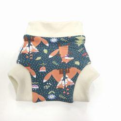 Bambi Roxy bebújós merinó gyapjú külső, rókák