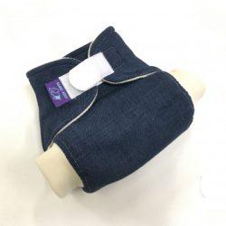Bambi Roxy egyméretes bio merinó gyapjú külső patentos, jeans