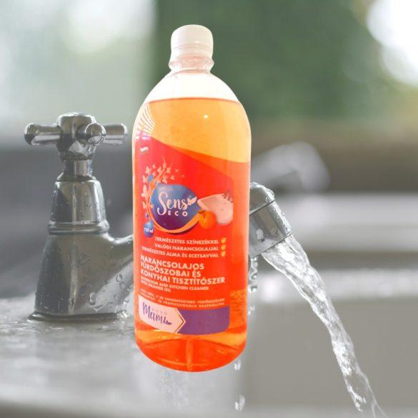SensEco narancsos tisztítószer, 1 liter (utántöltő, kupakos)