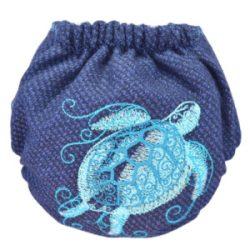 Doodush merinó gyapjú patentos pelenka külső, OS (8-18 kg), teknős