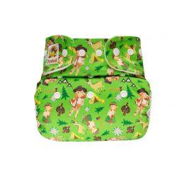 Doodush mosható pelenka külső két méretben, zöld hegy