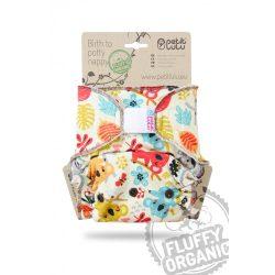 Petit Lulu Organic Fluffy pelenkabelső, koala